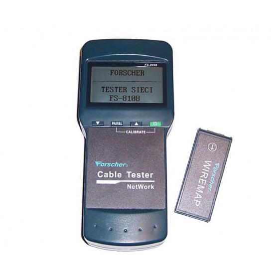 MIERNIK TESTER LAN FORSCHER FS8108