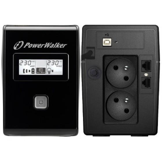 UPS ZASILACZ AWARYJNY POWER WALKER VI 850 LCD