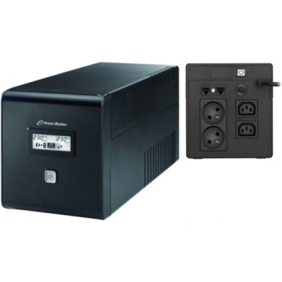 UPS ZASILACZ AWARYJNY POWER WALKER VI 1000 LCD FR