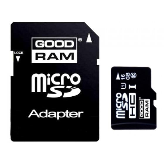 KARTA MICRO SD GOODRAM UHS1 16GB CL10