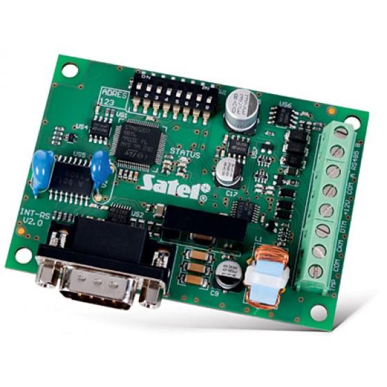 INTERFEJS SATEL RS-232/485 DO INTEGRACJI SYST. INT-RS Plus