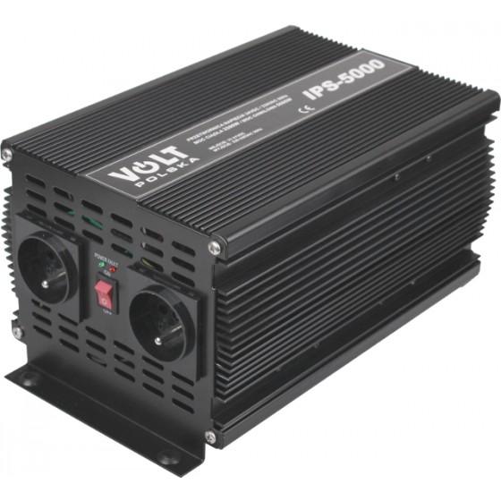 PRZETWORNICA VOLT POLSKA IPS-5000 24V / 230V 2500/5000 W