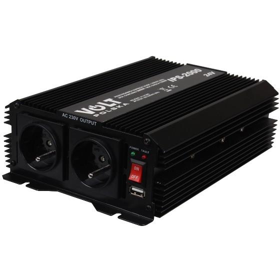 PRZETWORNICA IPS-2000 24V / 230V 1300/2000 W