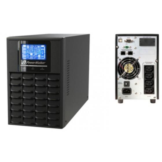 UPS ZASILACZ AWARYJNY POWER WALKER VFI 1500 LCD TOWER
