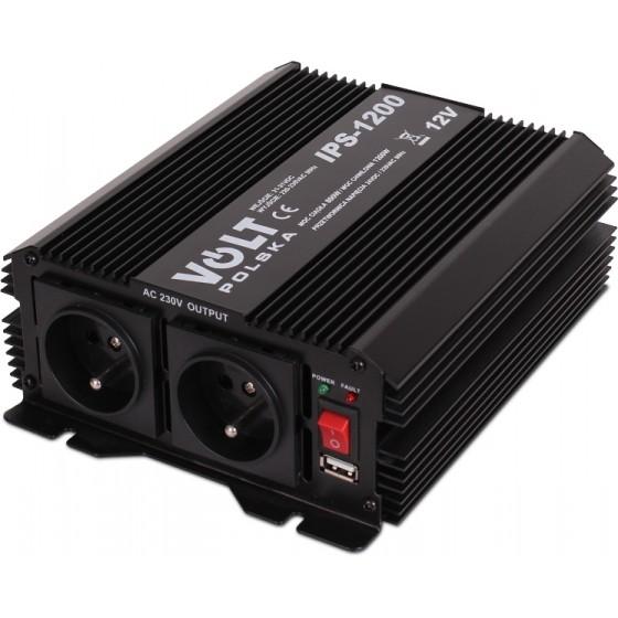 PRETWORNICA IPS-1200 12V 230V 600/1200W