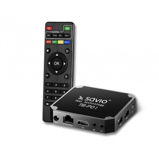 Savio Smart TV Box Premium One 2/16 TB-P01
