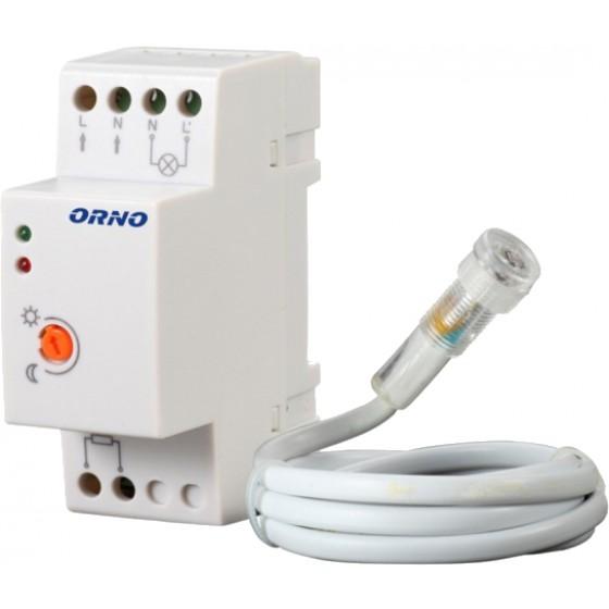 Czujnik zmierzchowy na szynę DIN ORNO OR-CR-219