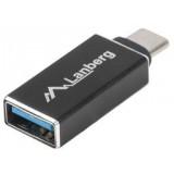ADAPTER USB-C(M) 3.1->USB-A(F) CZARNY OTG