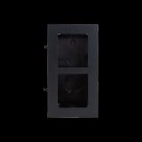 Ramka montażowa podwójna podtynkowa VIDOS ONE D2200-2