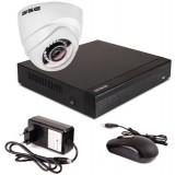 Zestaw startowy AHD, 1x Kamera FULL HD/IR20, Rejestrator 4ch
