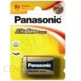 Bateria PANASONIC 9V 6LR61 ALKALINE (blister 1szt.)