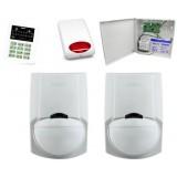 Alarm Satel CA-5 LED, 2xLC-100 PI, syg. zew. SPL-5010R