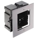 Ramka z puszką do montażu podtynk. 1-modułowa HIKVISION DS-KD-ACF1(Plastic)