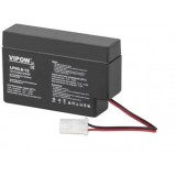 "Akumulator AGM VIPOV 12V 0.8Ah (terminal AMP) ""żelowy"""