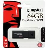 Pendrive Kingston Data Traveler DT100 G3 64GB USB 3.1