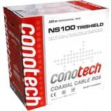 Przewód koncentryczny NS100 Trishield Pull Box- 1m