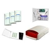 Zestaw alarmowy Satel CA-4 LED, 3xBOSCH, syg. zew. Beewell