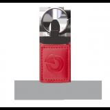 JA-194J-RE Brelok zbliżeniowy RFID do systemu JA-100, w czerwonym skórzanym etui, prostokątny JABLOTRON JA-194J-RE
