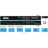 Key Digital Matryca multi-view HDMI/VGA/POH/HDBT KD-MLV4x2Pro