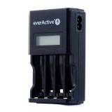 Ładowarka procesorowa everActive NC-450 LCD AA/AAA