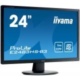 "Monitor LED IIYAMA E2483HS-B3 24"" HDMI DisplayPort"