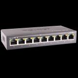 SWITCH POE TG-NET P1009D-8POE 96W (48V 2A)