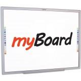 """Tablica interaktywna dotykowa myBoard Black 90"""" Nano PANORAMA"""