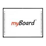 """Tablica interaktywna dotykowa, optyczna myBoard Black 2C 85"""" Nano"""