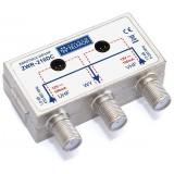 Zwrotnica antenowa UHF - VHF (FM) Telmor ZWR-210DC