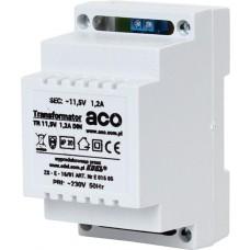 ACO TR DIN 12V 1,2A Transformator na szynę DIN