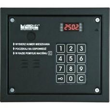 Laskomex CP-2503P czarny Panel audio z możliwością dołożenia kamery