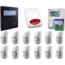Alarm SATEL INTEGRA 128WRL GSM 12 x PIR PET Syg.zew. man.senso.