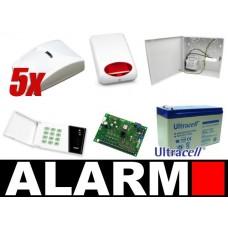 Alarm Satel CA-6 LED, 5xBingo, syg. zew. SPL-5010R