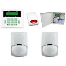 Alarm Satel CA-5 LCD, GSM, 2xLC-100 PI, syg. zew. SPL-5010R