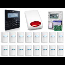 Alarm SATEL INTEGRA 128WRL GSM 16 x PIR Syg.zew man.senso.