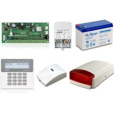 Zestaw alarmowy SATEL PERFECTA 16, Klawiatura LCD, 1 czujnik ruchu PET, sygnalizator zewnętrzny, powiadomienie GSM