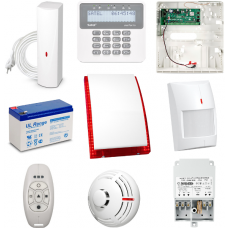Zestaw alarmowy w pełni bezprzewodowy Satel Perfecta 16-WRL, 6 Czujek