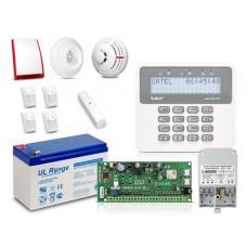 Zestaw SATEL PERFECTA 16-SET, LCD, 4 x ruch, 1 x otwarcie, 1 x dym, 1 x czad