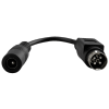 Adapter zasilania do rejestratora Hikvision (wtyk DIN4/gniazdo 2,1/5.5) ML517 PULSAR